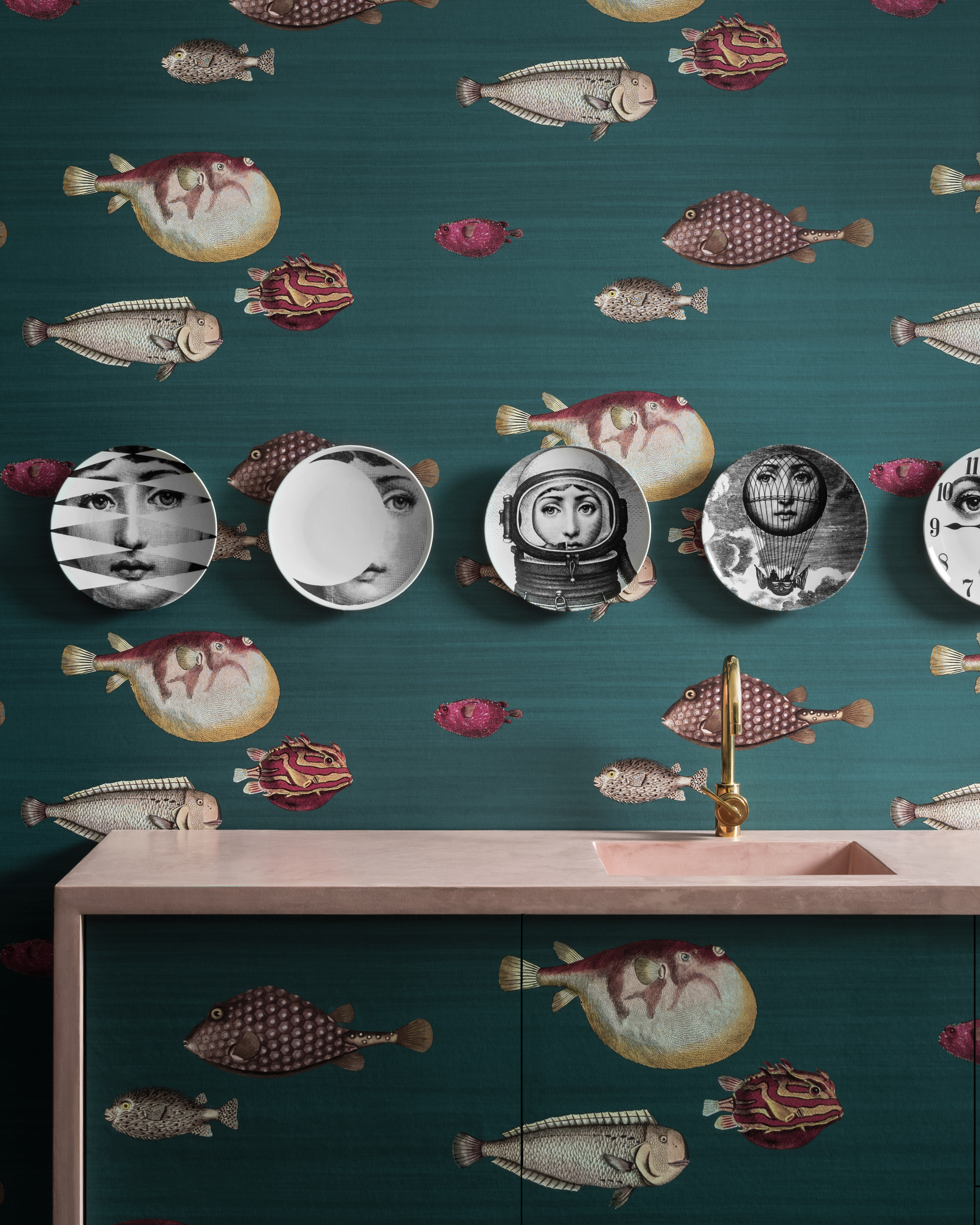 iconic wallpapers fornasetti