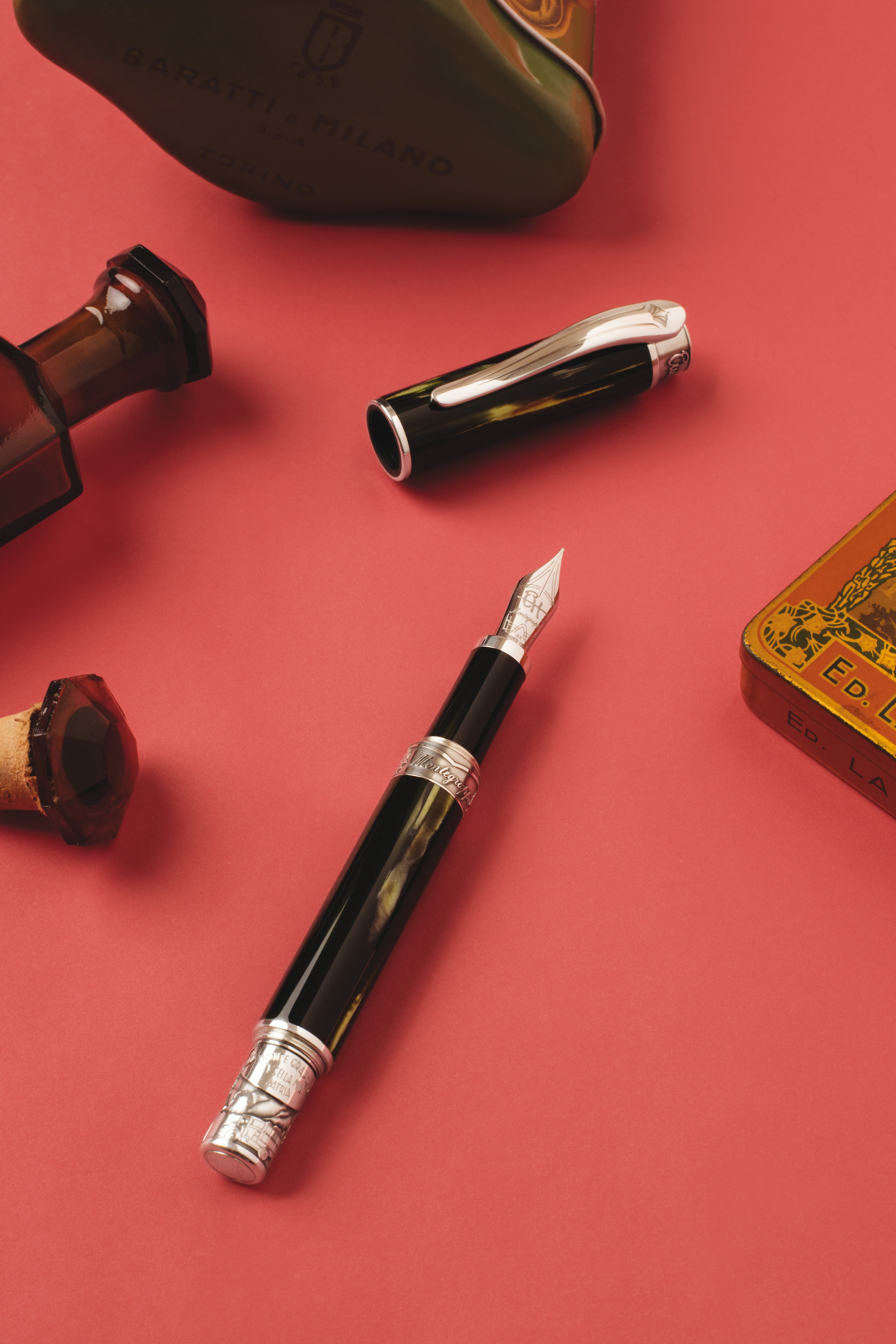 Montegrappa Hemingway fountain pen collection the warrior