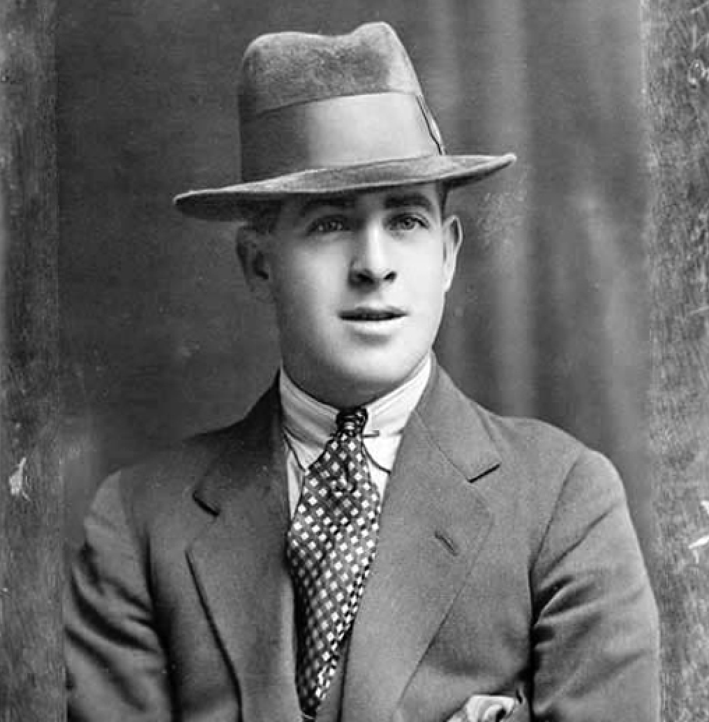 Actor Freddy Piper in a Trilby hat year 1924.