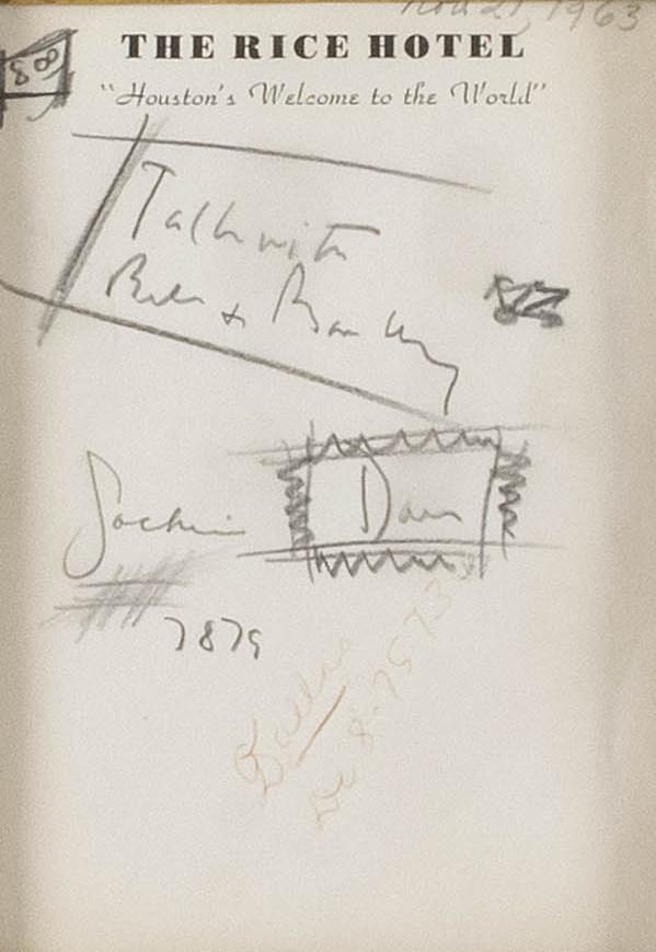 Auction JFK notes