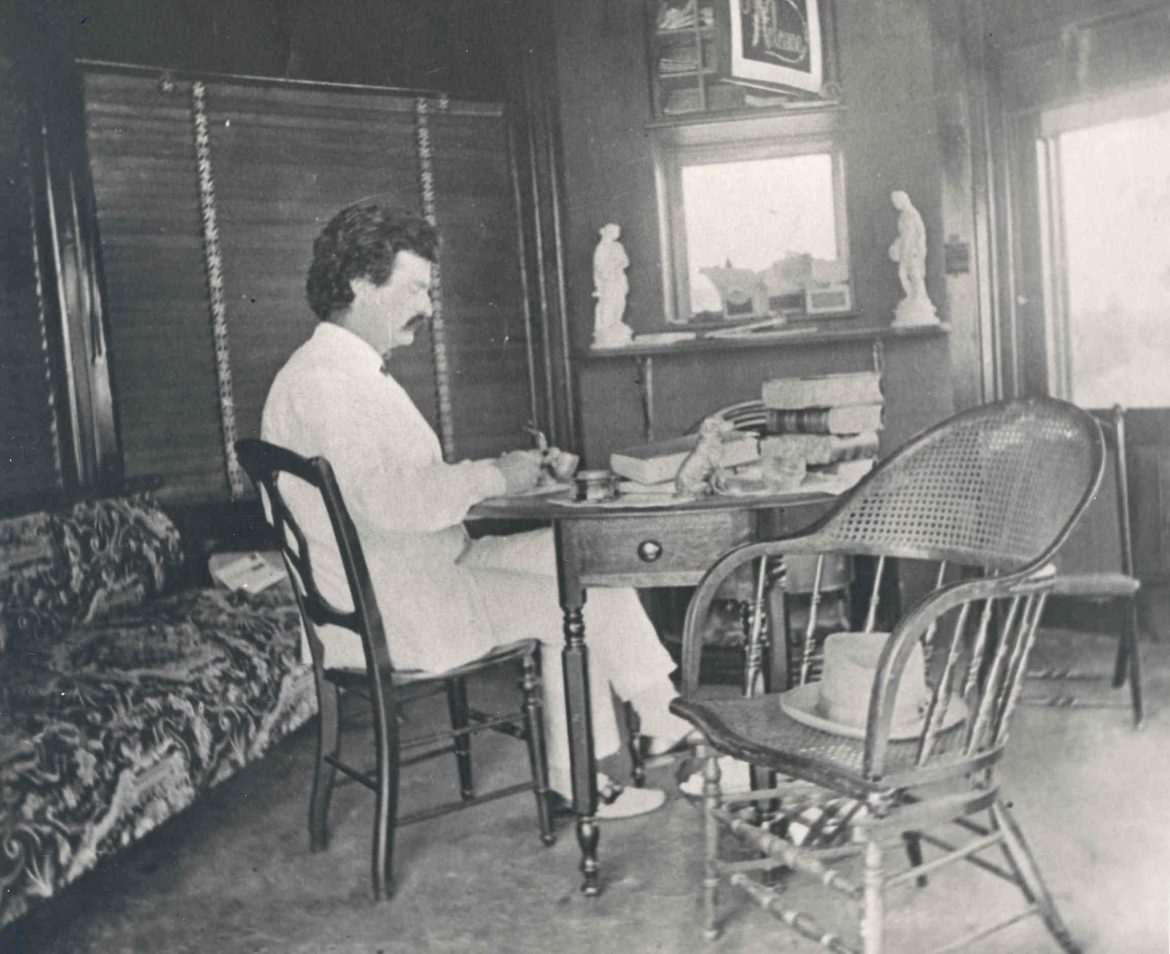 mark twain writing habits