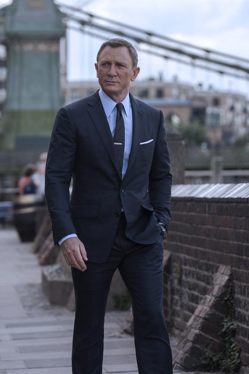 James Bond tom ford no time to die