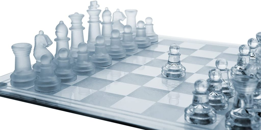 chess set in glass best chess related products