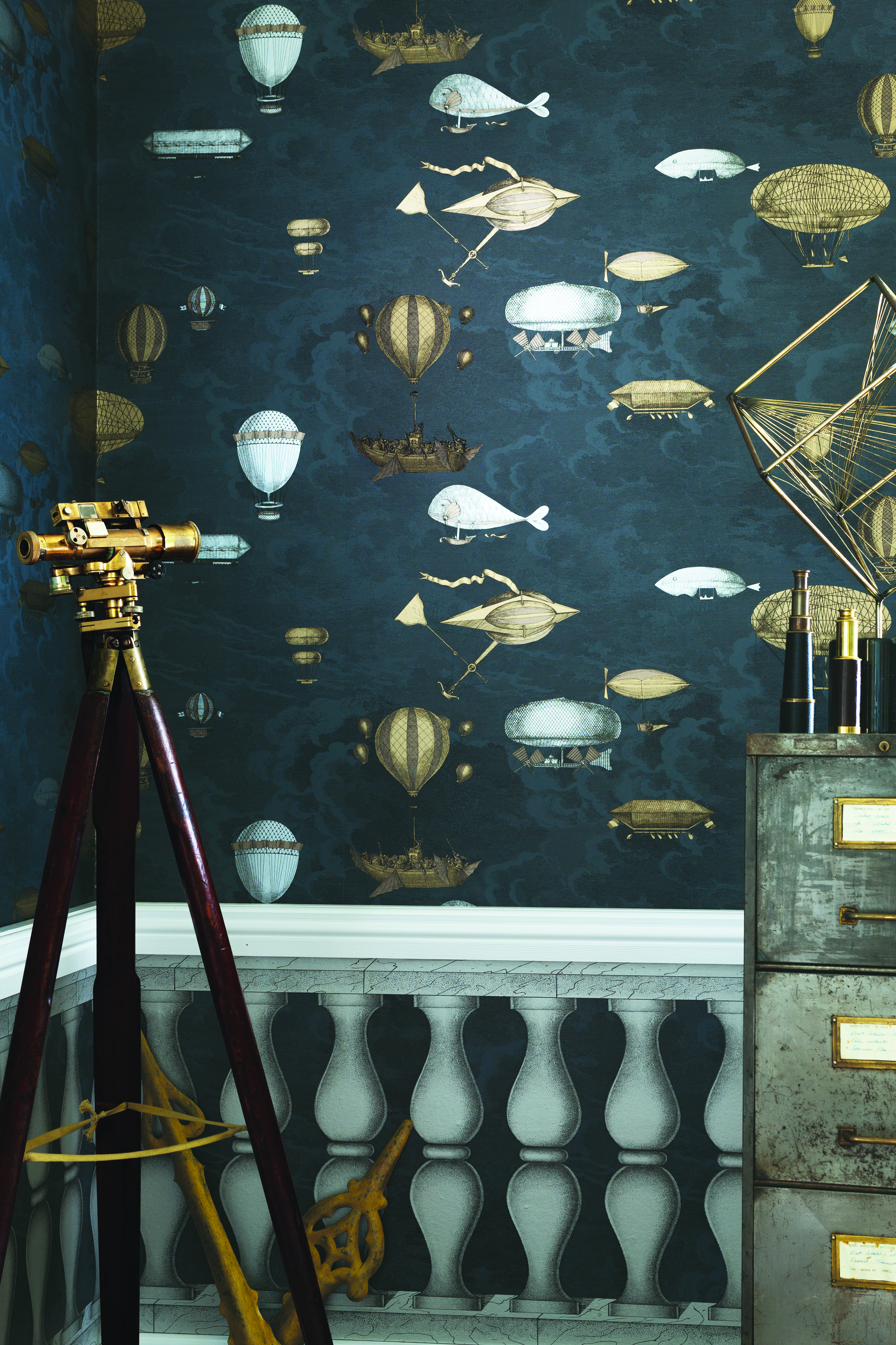 fornasetti collection wallpapers