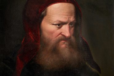 Benvenuto Cellini self-portrait art