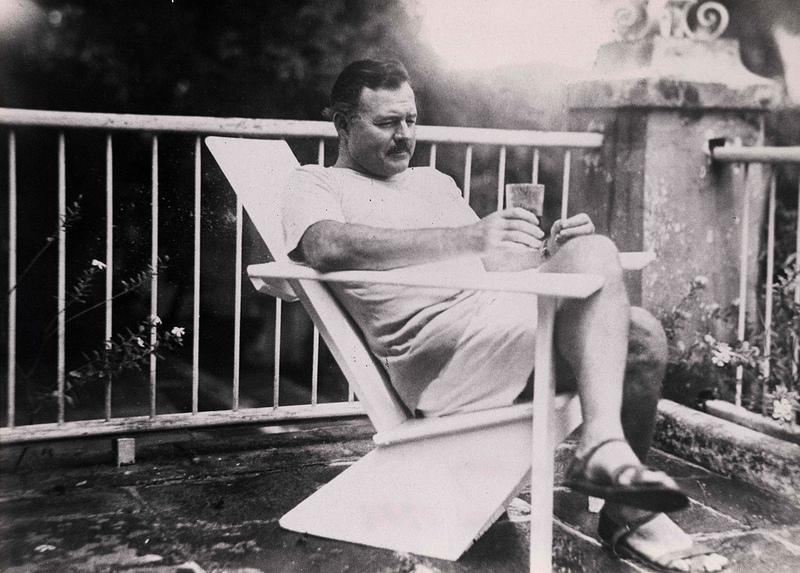 Ernest Hemingway writing habits