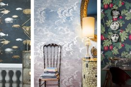 iconic wallpapers cole & sons fornasetti collection