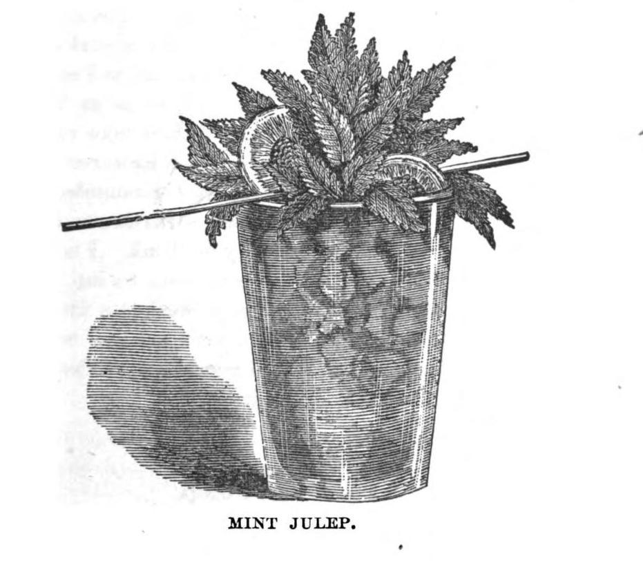 mint julep original recipe