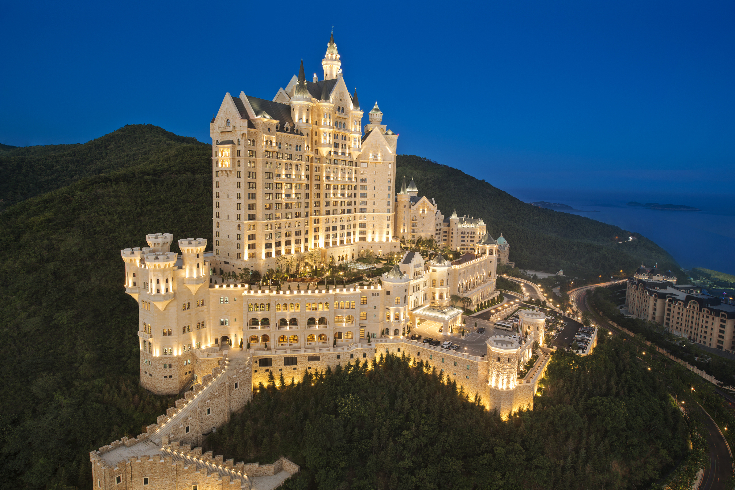 the most luxurious castle hotel in the world