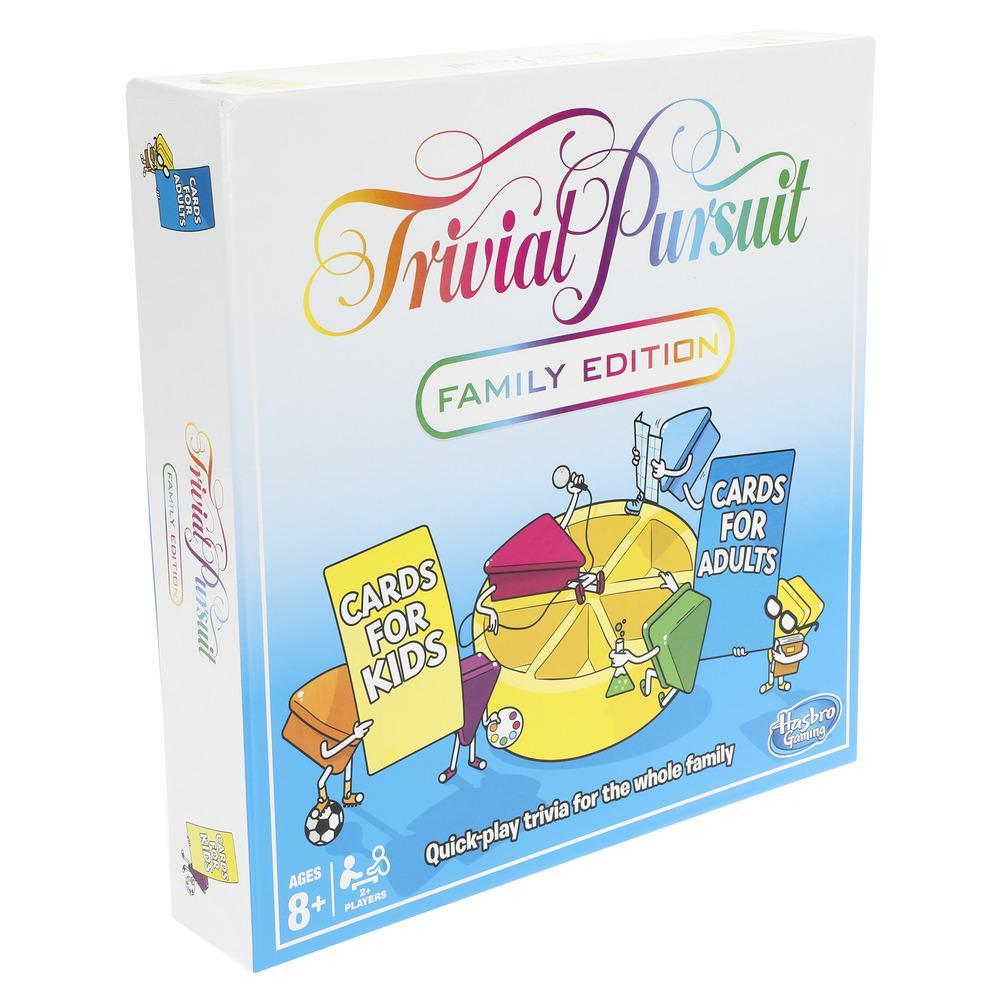 trivial pursuit best board game for the whole family