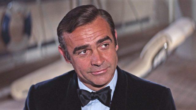 James Bond velvet tuxedo