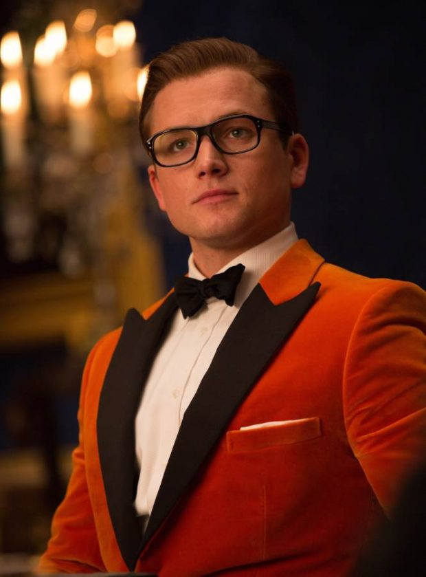 Kingsman velvet dinner jacket