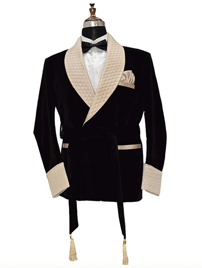 traditional smoking jackets online