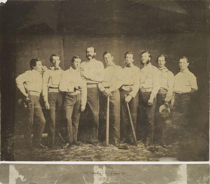 The 1860 Brooklyn Excelsior Baseball Club