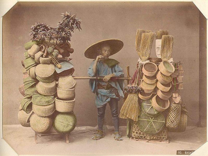 Kusakabe Kimbei [Public domain], via Wikimedia Commons